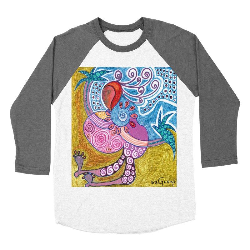 Women's Baseball Triblend Longsleeve T-Shirt by SUGLERI's Artist Shop