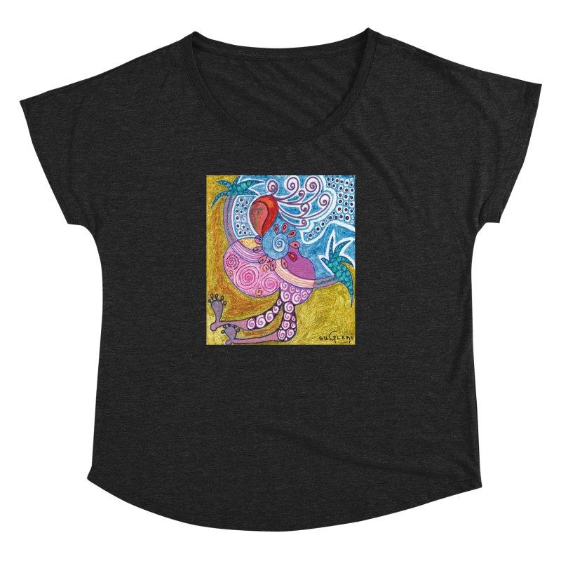 Women's Dolman Scoop Neck by SUGLERI's Artist Shop