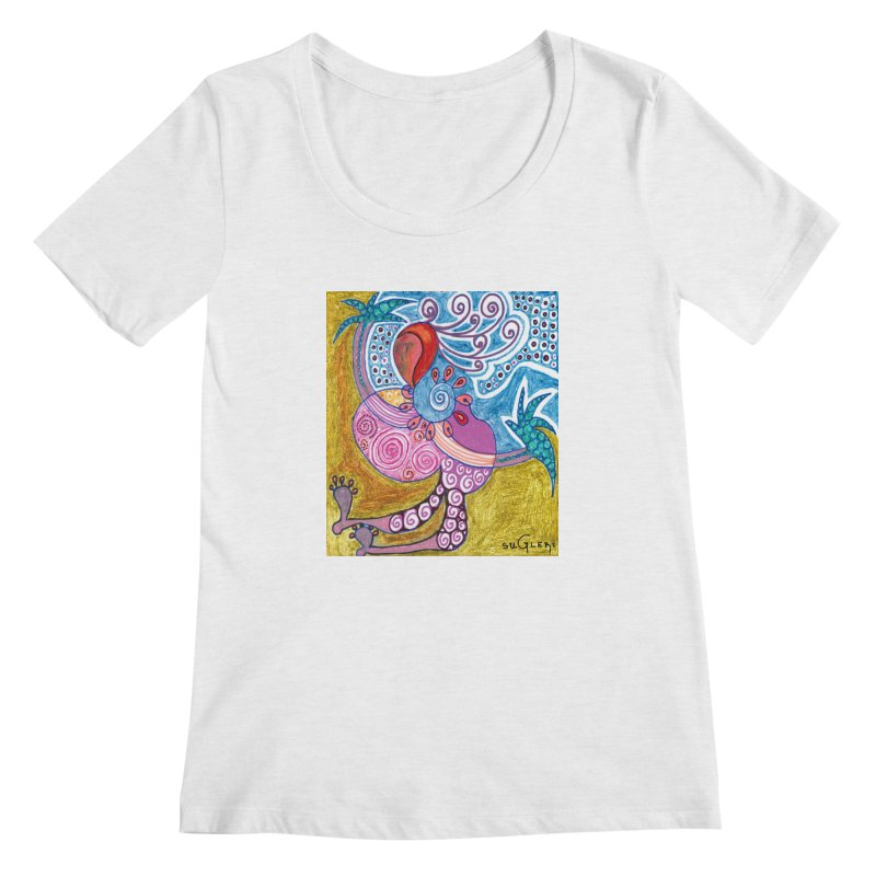 Women's Regular Scoop Neck by SUGLERI's Artist Shop