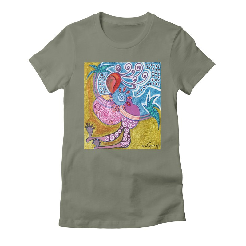 Women's Fitted T-Shirt by SUGLERI's Artist Shop