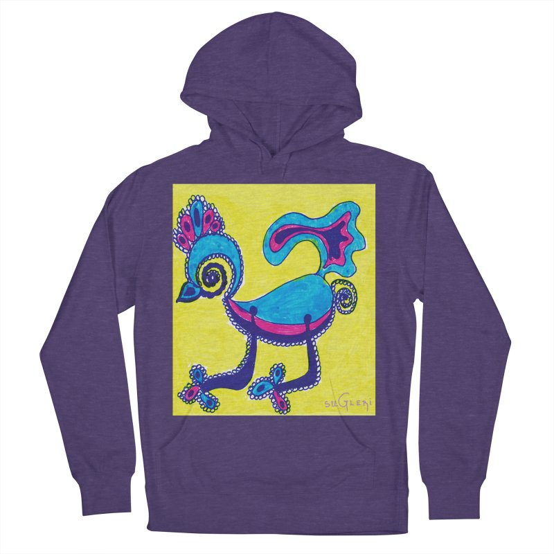 SUGLERI ART DESIGN Women's French Terry Pullover Hoody by SUGLERI's Artist Shop