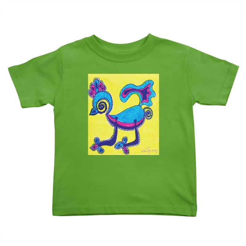 SUGLERI ART DESIGN Kids Toddler T-Shirt by SUGLERI's Artist Shop