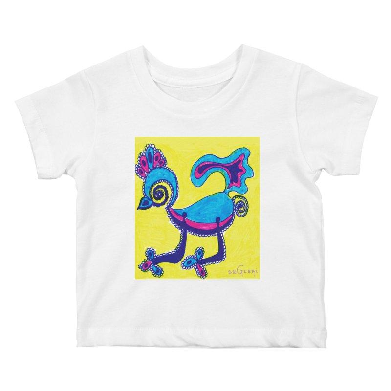 SUGLERI ART DESIGN Kids Baby T-Shirt by SUGLERI's Artist Shop