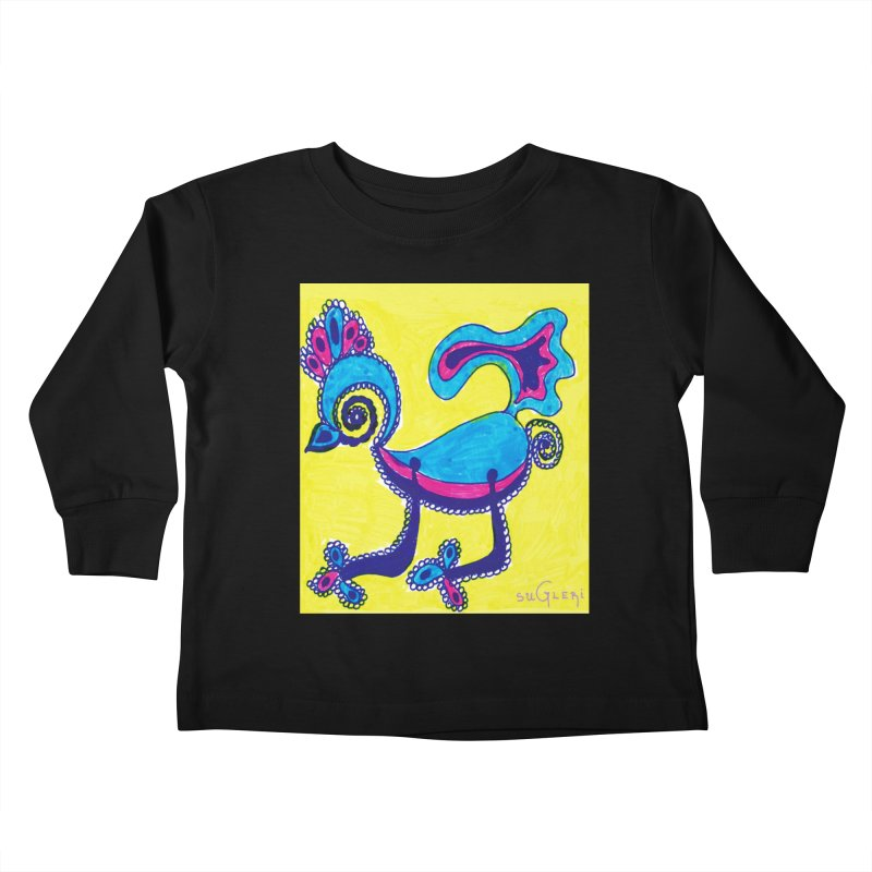 SUGLERI ART DESIGN Kids Toddler Longsleeve T-Shirt by SUGLERI's Artist Shop