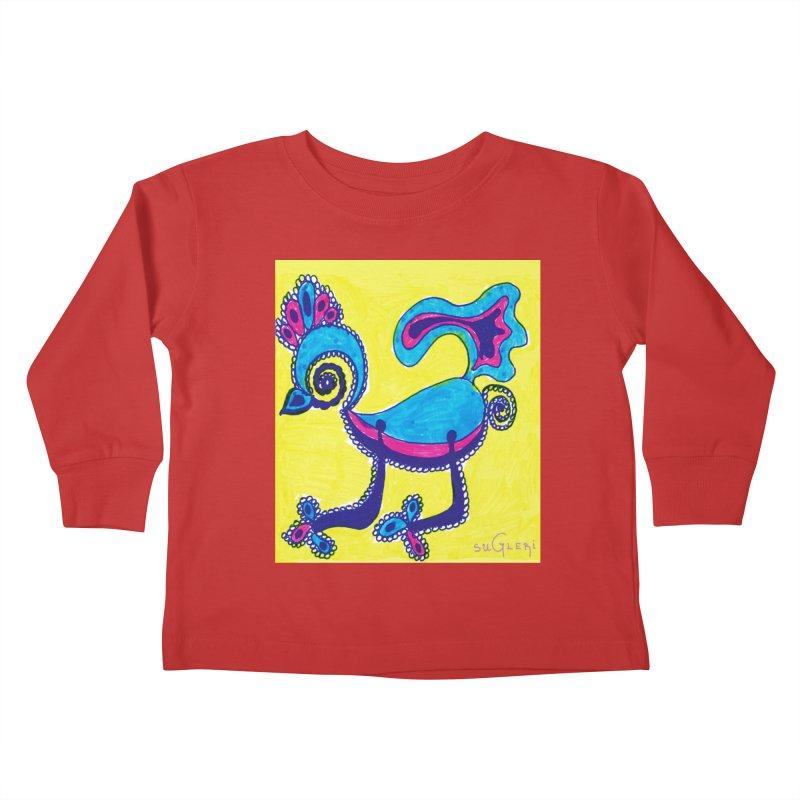SUGLERI ART DESIGN Kids Toddler Longsleeve T-Shirt by SUGLERI's Artist Shop