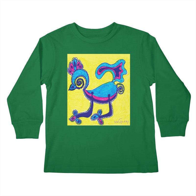 SUGLERI ART DESIGN Kids Longsleeve T-Shirt by SUGLERI's Artist Shop