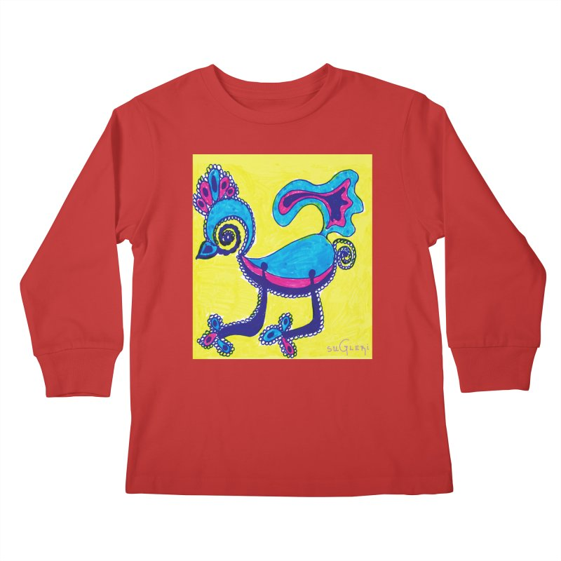 SUGLERI ART DESIGN Kids Longsleeve T-Shirt by SUGLERI's Artist Shop