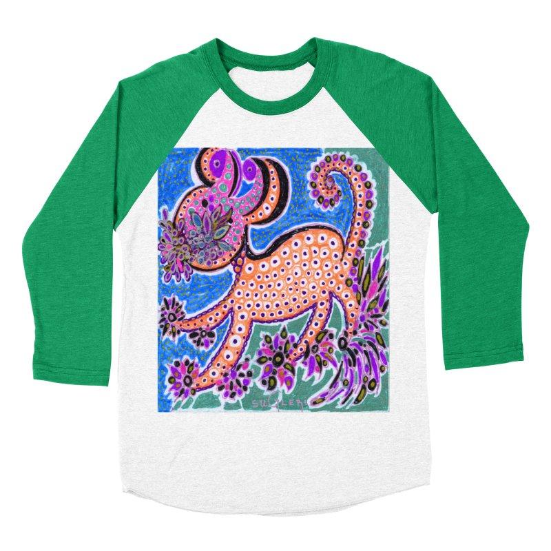 SUGLERI ART DESIGN Women's Baseball Triblend Longsleeve T-Shirt by SUGLERI's Artist Shop