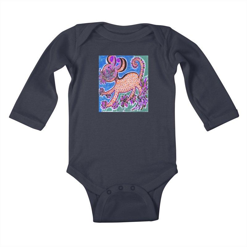 SUGLERI ART DESIGN Kids Baby Longsleeve Bodysuit by SUGLERI's Artist Shop