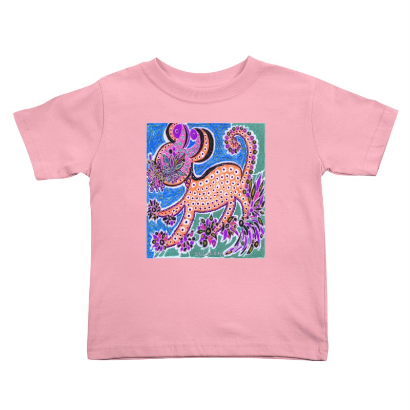 SUGLERI ART DESIGN Kids Toddler T-Shirt by SUGLERI's Artist Shop