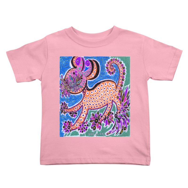 SUGLERI ART DESIGN in Kids Toddler T-Shirt Light Pink by SUGLERI's Artist Shop
