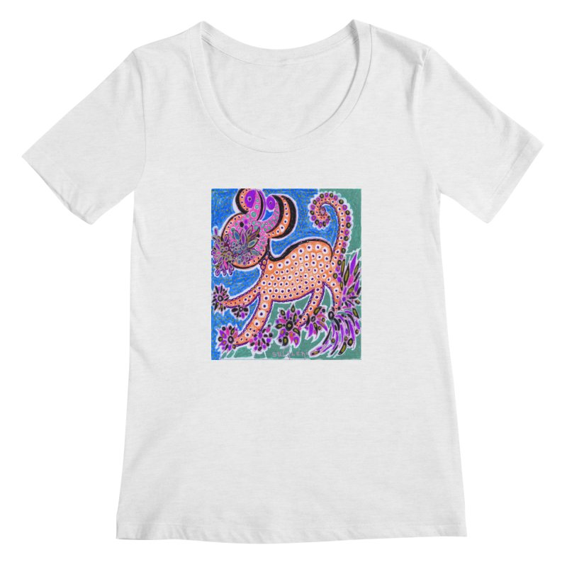 SUGLERI ART DESIGN Women's Regular Scoop Neck by SUGLERI's Artist Shop