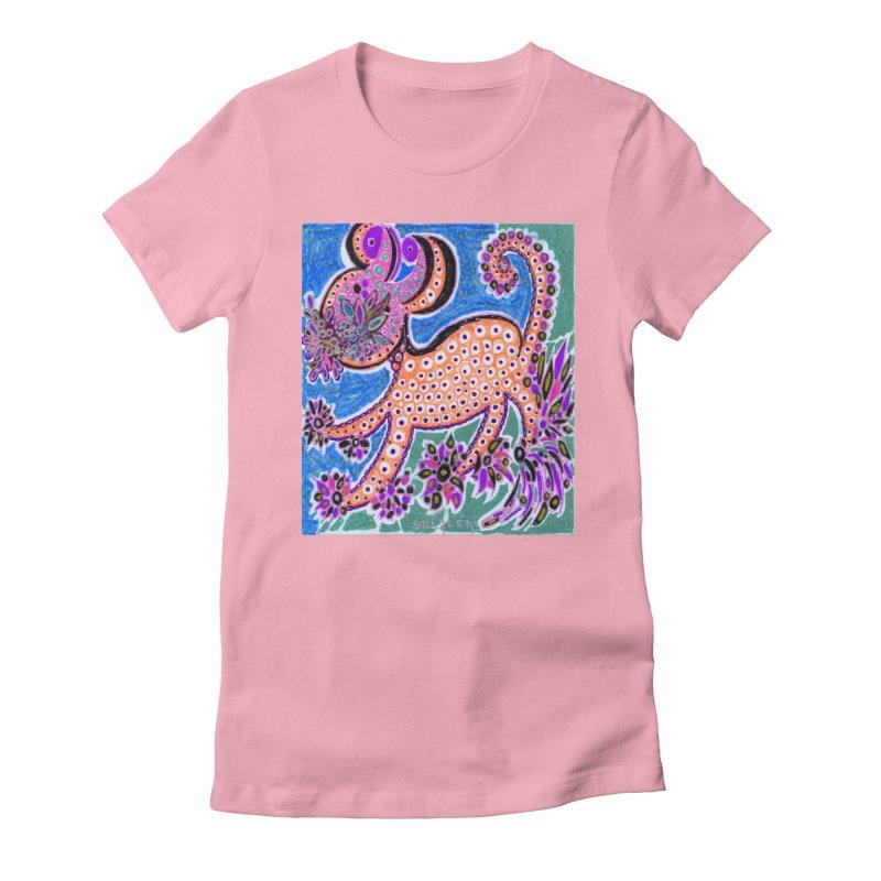 SUGLERI ART DESIGN Women's Fitted T-Shirt by SUGLERI's Artist Shop