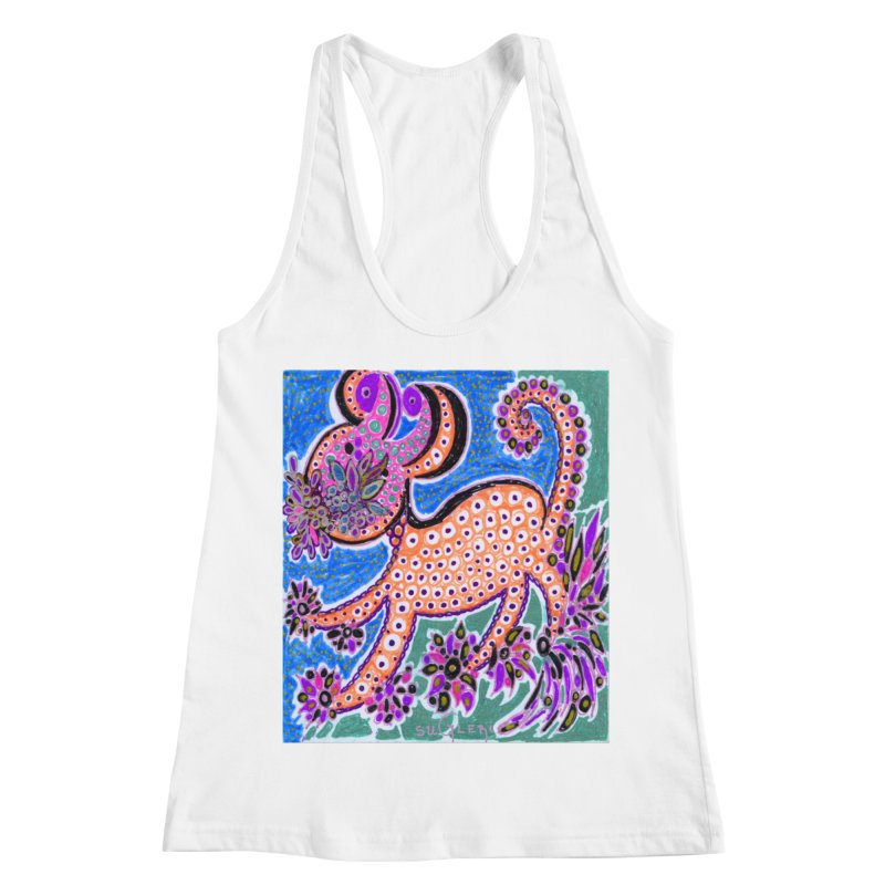 SUGLERI ART DESIGN Women's Racerback Tank by SUGLERI's Artist Shop