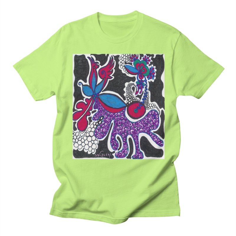 SUGLERI ART DESIGN Men's Regular T-Shirt by SUGLERI's Artist Shop