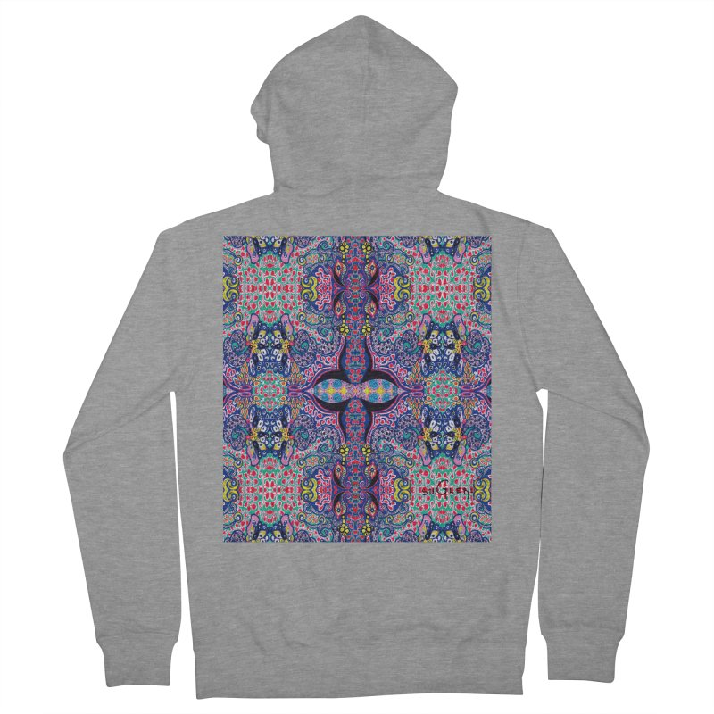 SUGLERI ART DESIGN Women's French Terry Zip-Up Hoody by SUGLERI's Artist Shop