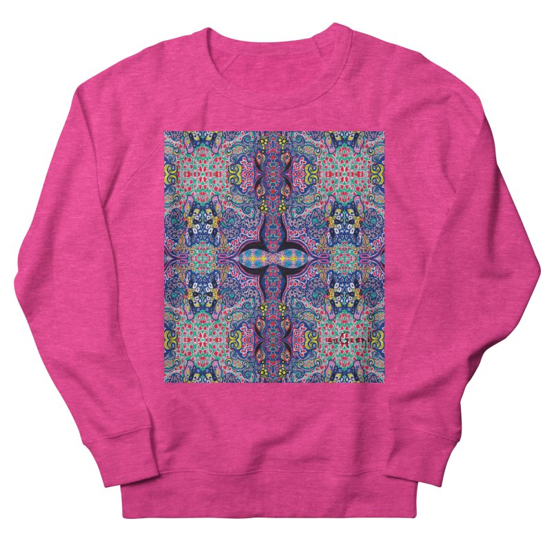 SUGLERI ART DESIGN Women's French Terry Sweatshirt by SUGLERI's Artist Shop