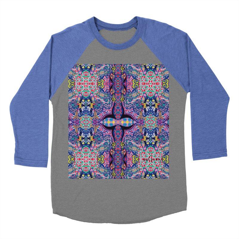 SUGLERI ART DESIGN Men's Baseball Triblend Longsleeve T-Shirt by SUGLERI's Artist Shop