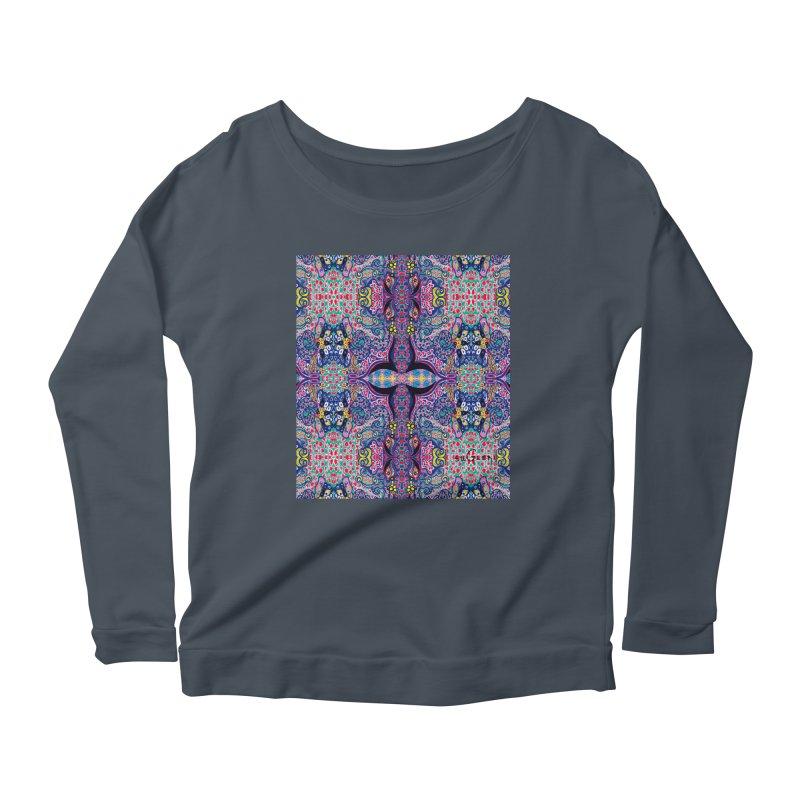 SUGLERI ART DESIGN Women's Scoop Neck Longsleeve T-Shirt by SUGLERI's Artist Shop
