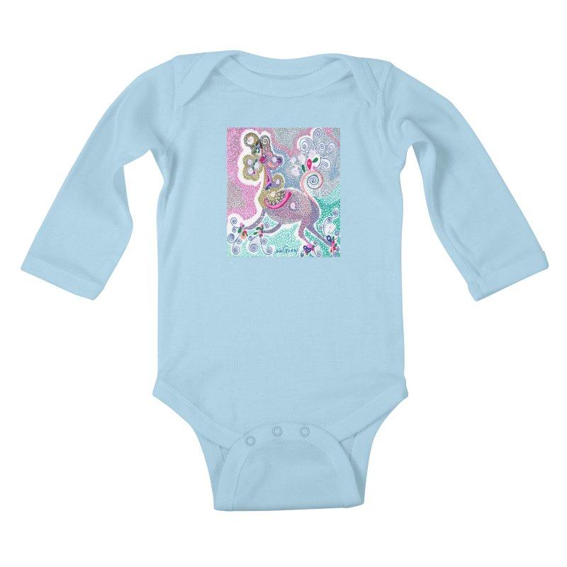 suGleri Kids Baby Longsleeve Bodysuit by SUGLERI's Artist Shop
