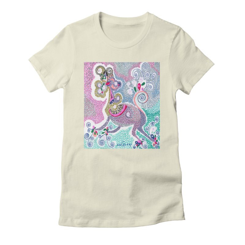 suGleri Women's Fitted T-Shirt by SUGLERI's Artist Shop
