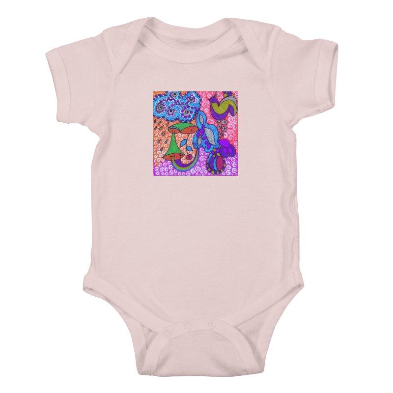 SUGLERI Kids Baby Bodysuit by SUGLERI's Artist Shop