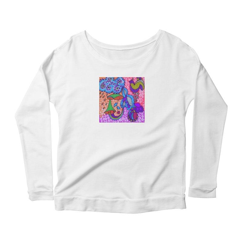 SUGLERI Women's Scoop Neck Longsleeve T-Shirt by SUGLERI's Artist Shop