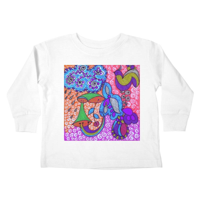 SUGLERI Kids Toddler Longsleeve T-Shirt by SUGLERI's Artist Shop