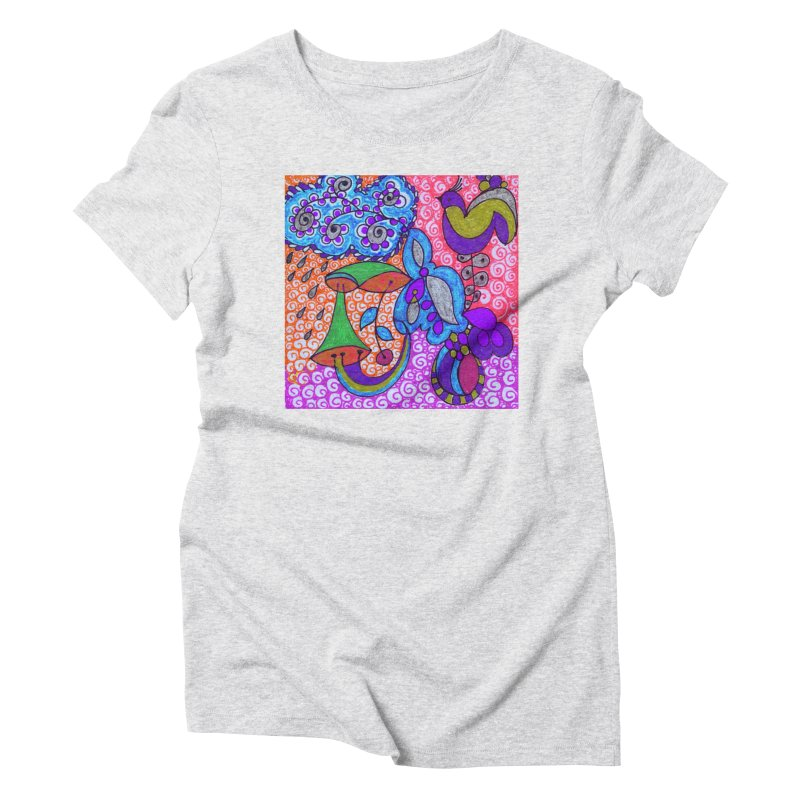 SUGLERI Women's Triblend T-Shirt by SUGLERI's Artist Shop