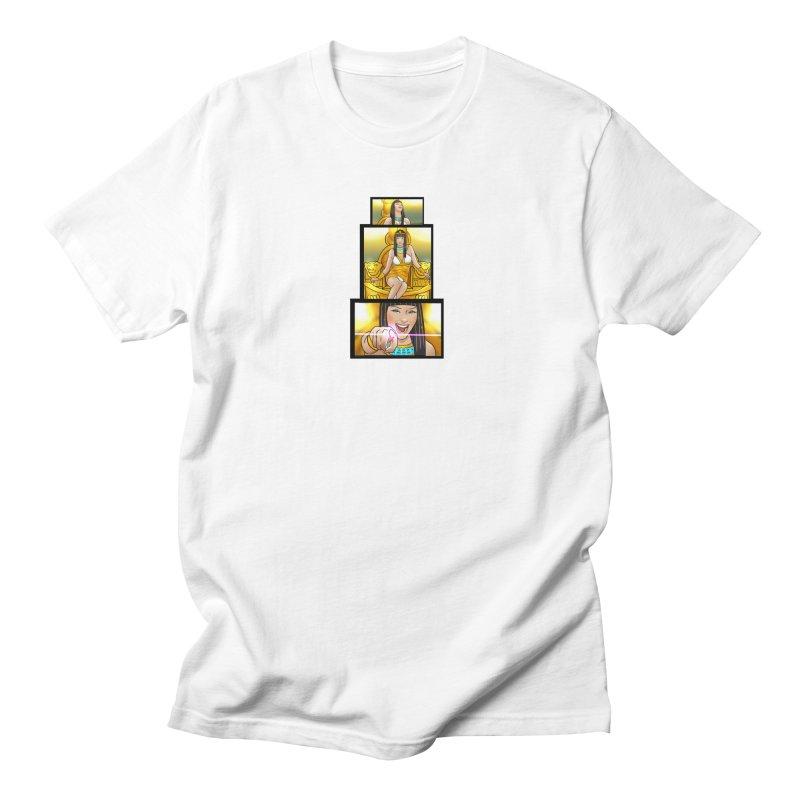 Queen Nefertiri Men's T-Shirt by SWIcomics's Artist Shop
