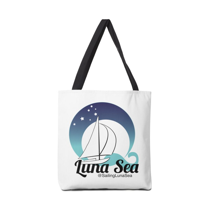 Sailing Luna Sea Logo Tees and Swag Accessories Bag by Sailing Luna Sea's Swag Shop