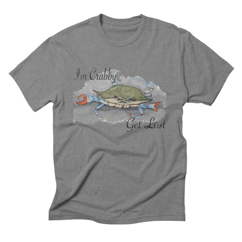 I'm Crabby, Get Lost Men's Triblend T-shirt by Sailing Luna Sea's Swag Shop