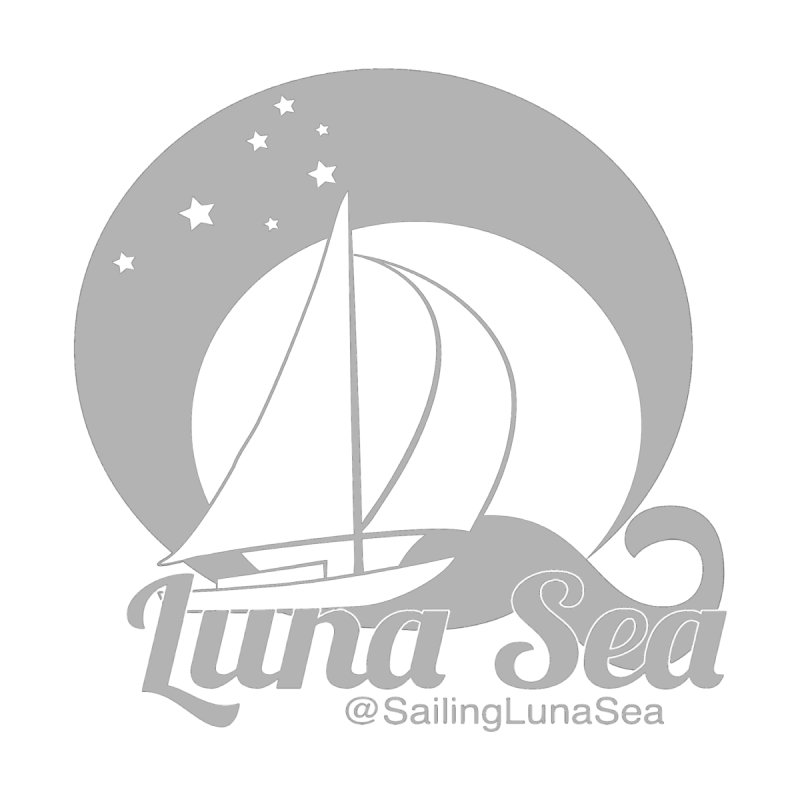 SLS Gray Logo  by Sailing Luna Sea's Swag Shop
