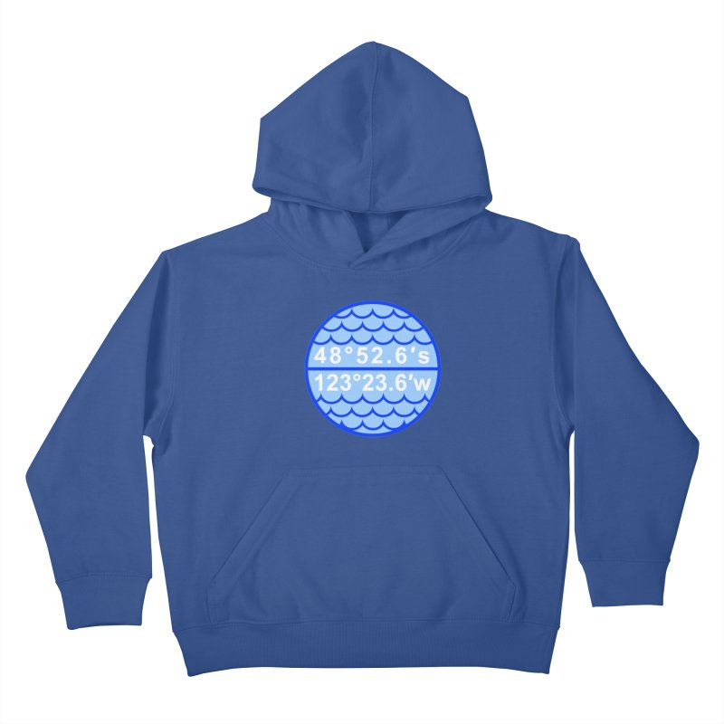 Point Nemo Kids Pullover Hoody by Sailor James