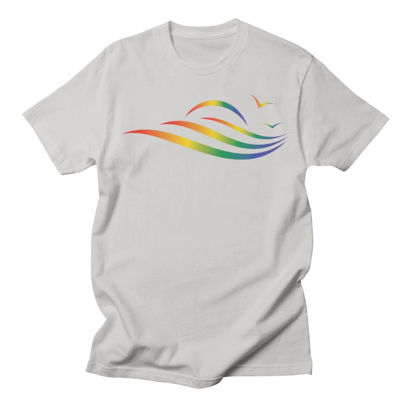 City of Salisbury Rainbow Logo Men's T-Shirt by SalisburyPride's Artist Shop