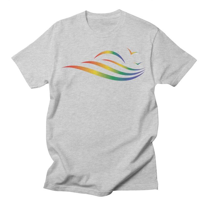 City of Salisbury Rainbow Logo Men's T-Shirt by SalisburyPride's Artist Shop