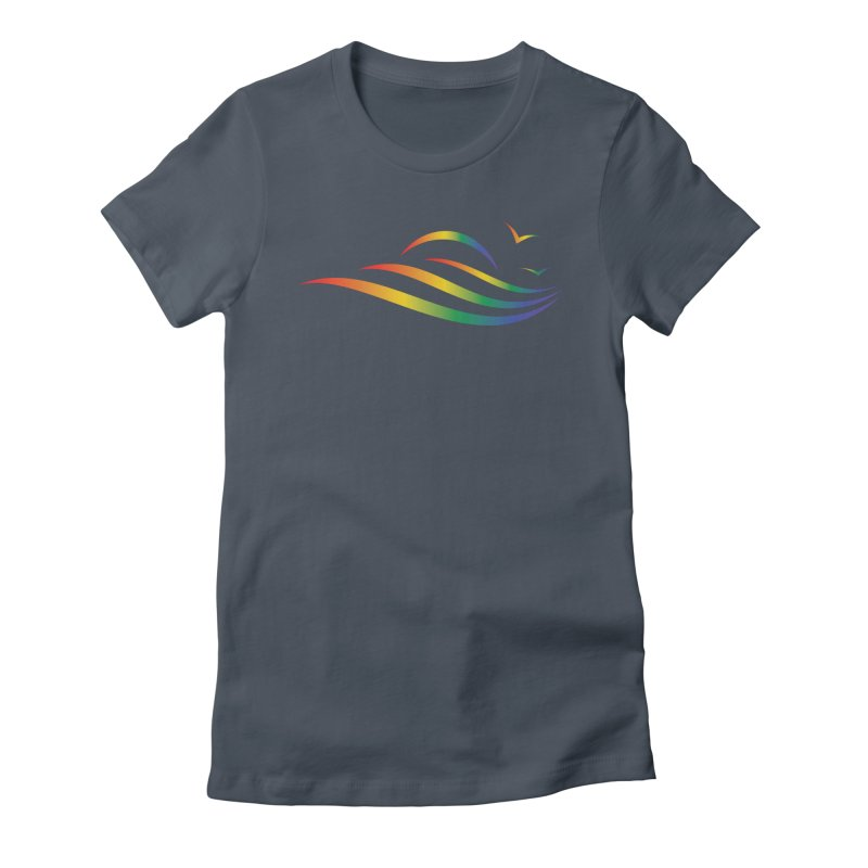 City of Salisbury Rainbow Logo Women's T-Shirt by SalisburyPride's Artist Shop