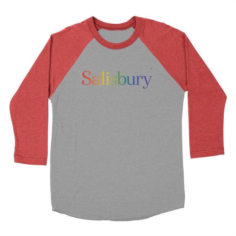 Rainbow Salisbury Men's Longsleeve T-Shirt by SalisburyPride's Artist Shop