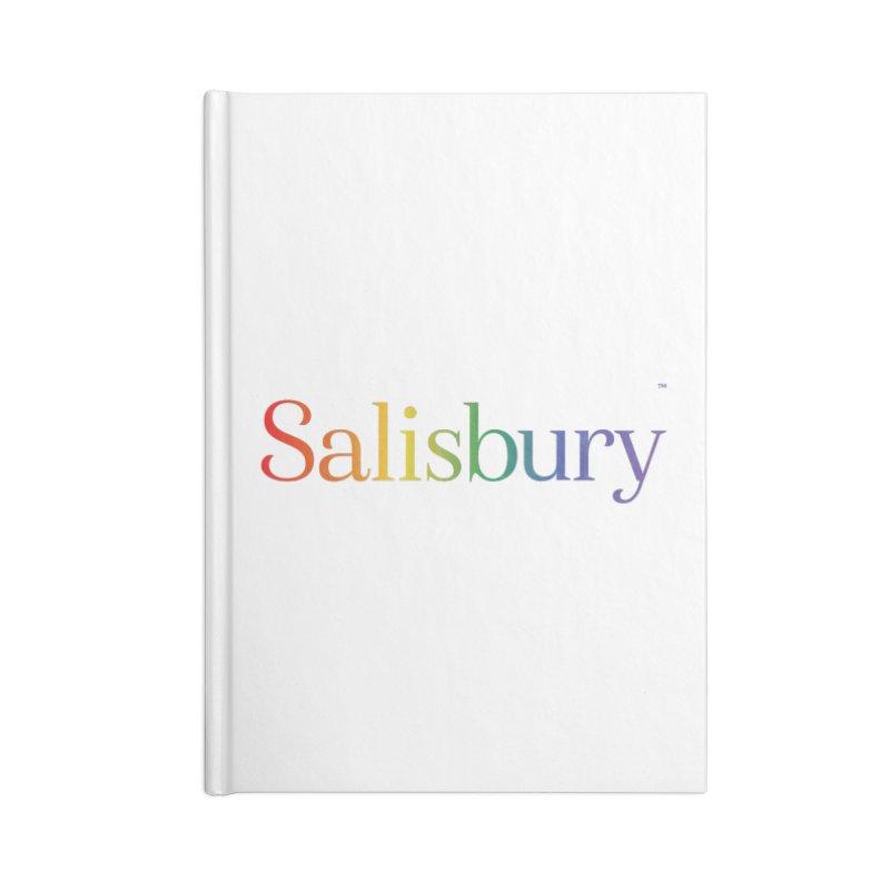 Rainbow Salisbury Accessories Notebook by SalisburyPride's Artist Shop