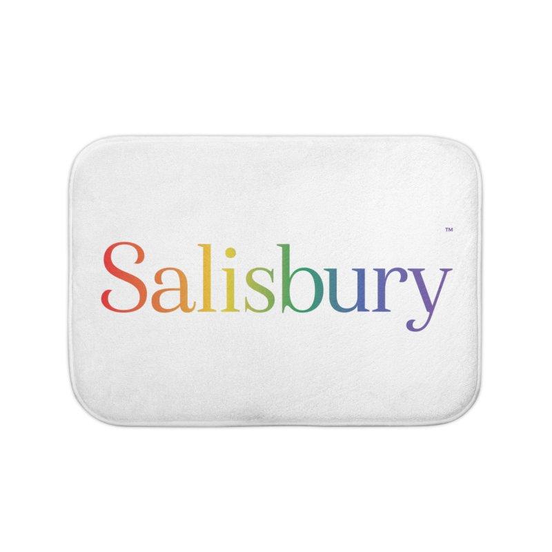 Rainbow Salisbury Home Bath Mat by SalisburyPride's Artist Shop