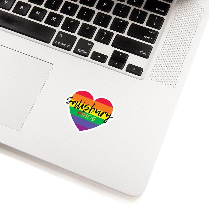 Classic Salisbury Pride Heart Logo Accessories Sticker by SalisburyPride's Artist Shop