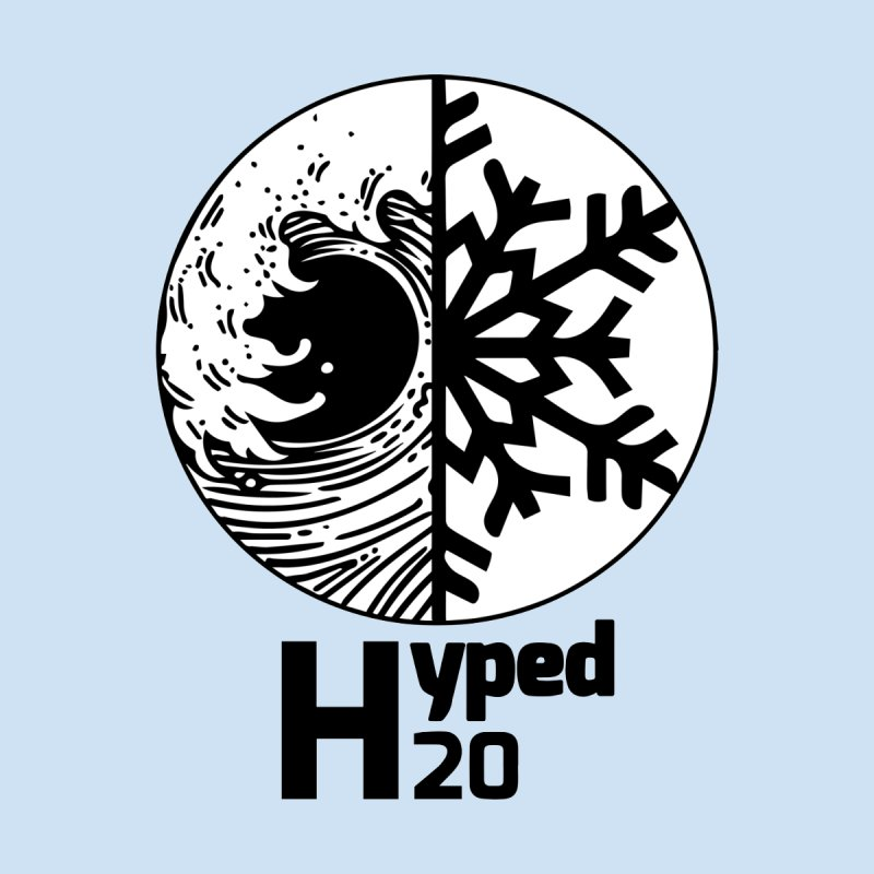 hyped H20 by Salty Beaches's Artist Shop