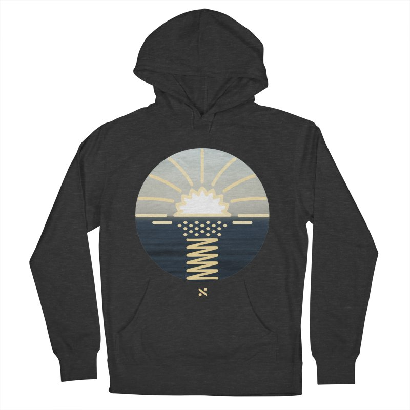 Sun Palm  Men's Pullover Hoody by Sam Arias