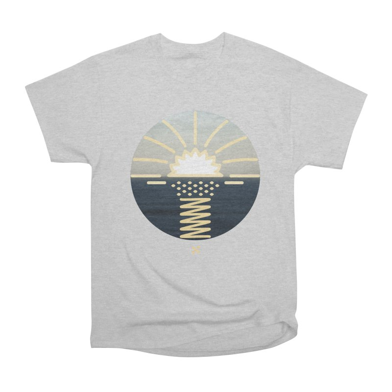 Sun Palm  Men's Classic T-Shirt by Sam Arias