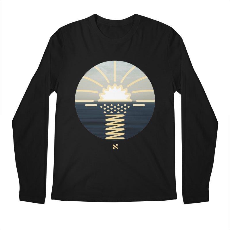 Sun Palm  Men's Longsleeve T-Shirt by Sam Arias