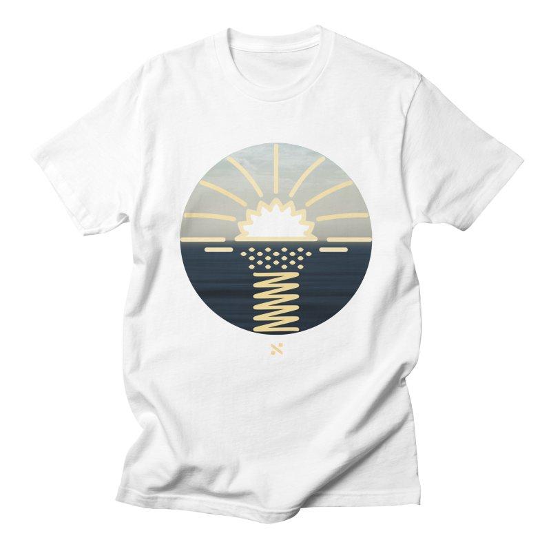 Sun Palm  Men's T-Shirt by Sam Arias