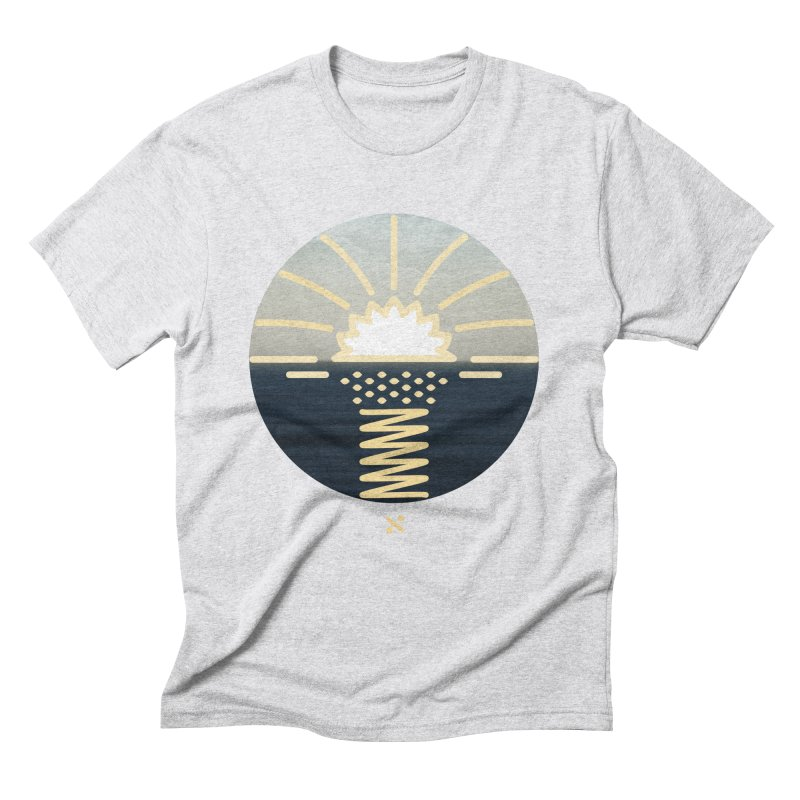 Sun Palm  Men's Triblend T-shirt by Sam Arias