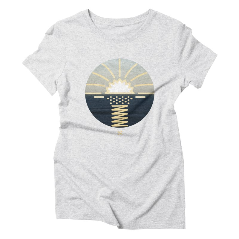 Sun Palm  Women's Triblend T-shirt by Sam Arias