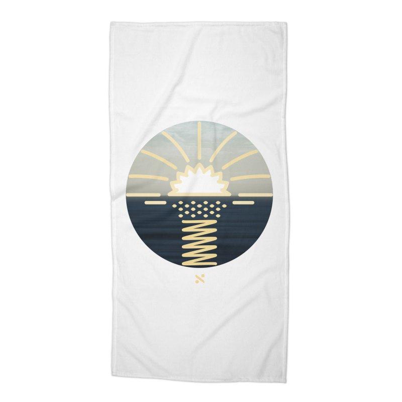 Sun Palm  Accessories Beach Towel by Sam Arias