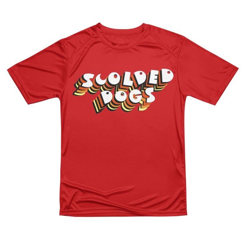 Scolded Tee Men's Performance T-Shirt by Sam Shain's Artist Shop